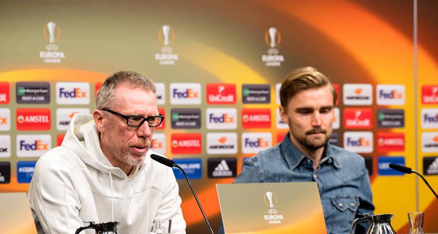 Пресс-конференция в преддверии матча с «Зальцбургом»