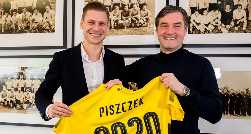 Лукаш Пищчек продлил контракт с «Боруссией» до 2020-го года