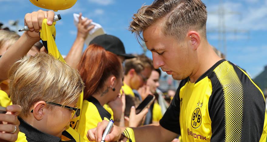 Феликс Пасслак: «Надеюсь, вернусь в Дортмунд более сильным футболистом»