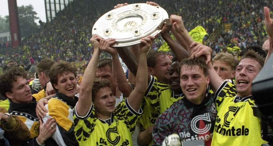 17 июня 1995 года «Боруссия» стала чемпионом Германии.