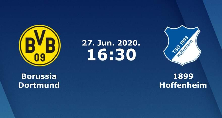 Бундеслига (34 тур): «Боруссия» Дортмунд — «Хоффенхайм» Зинсхайм. 27.06.2020. Перед матчем.