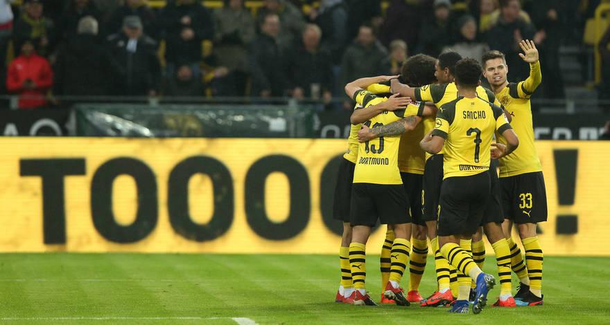 5:1 - «Боруссия» Дортмунд без труда одерживает победу над «Ганновером»