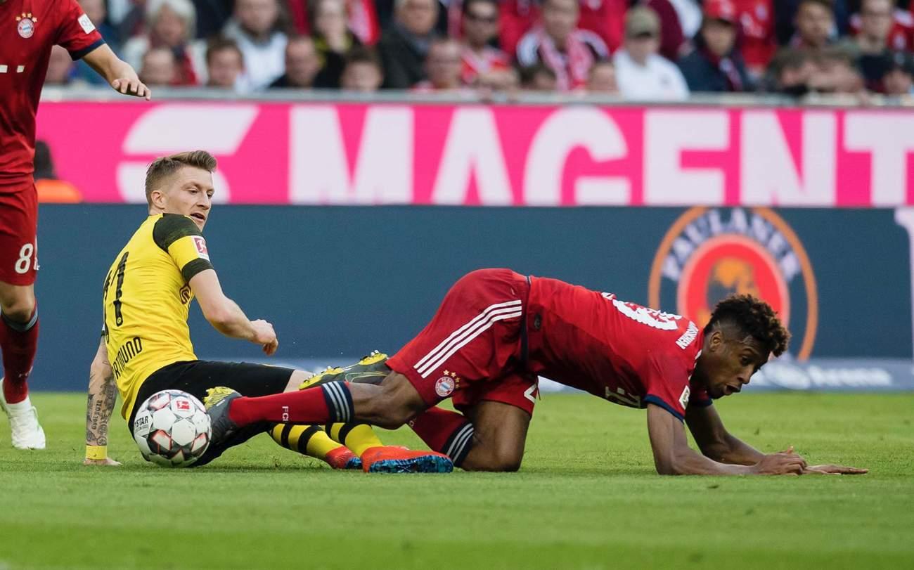 «Бавария» Мюнхен — «Боруссия» Дортмунд. 06.04.2019. После матча.
