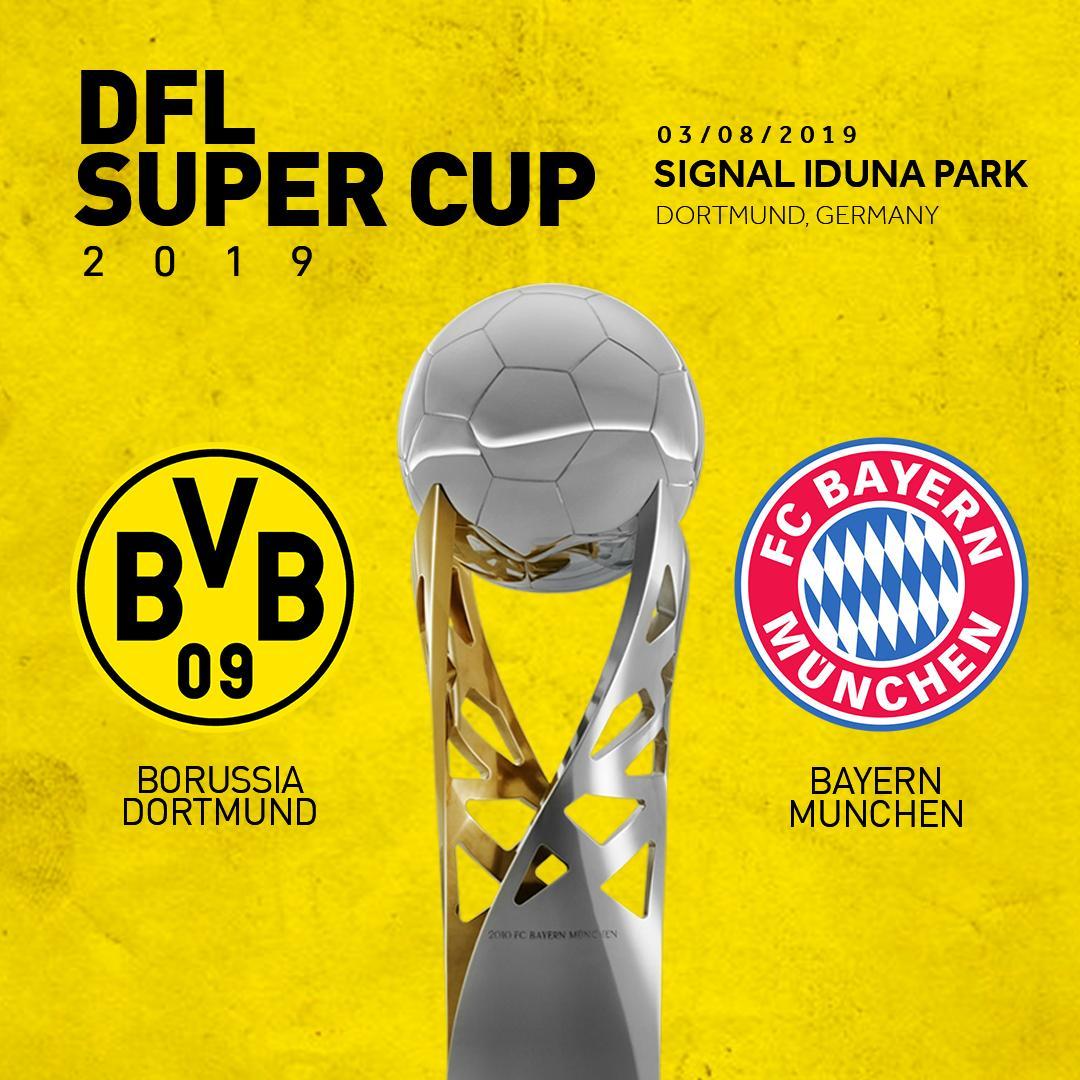 «Боруссия» Дортмунд — «Бавария» Мюнхен. 03.08.2019. Перед матчем.
