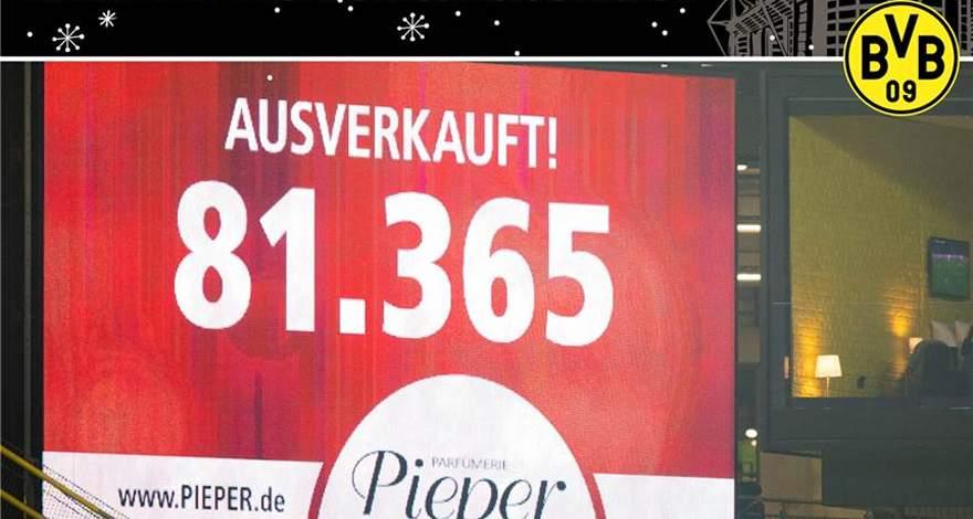 «Боруссия» (Дортмунд). Календарь событий: «Герр Пипер, пройдите к информационному стенду».