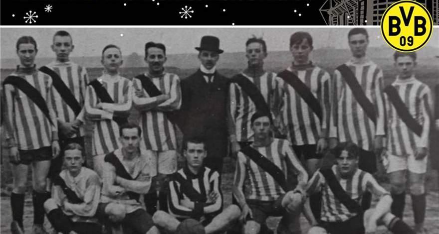 «Боруссия» (Дортмунд). Календарь событий: Как «Боруссия» получила свои клубные цвета.