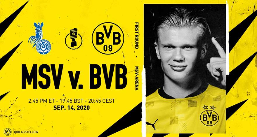 «Боруссия» Дортмунд: Первый раунд Кубка Германии с «Дуйсбургом» 14.09.2020.