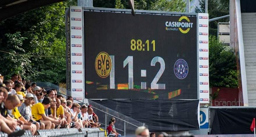 «Боруссия» разгромила «Аустрию» в товарищеском матче.