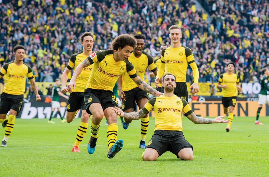 «Боруссия» Дортмунд — «Вольфсбург». 30.03.2019 После матча.