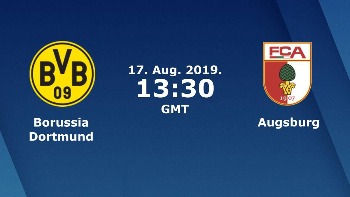Бундеслига (1 тур): «Боруссия» Дортмунд — «Аугсбург» Аугсбург. 17.08.2019. Перед матчем.