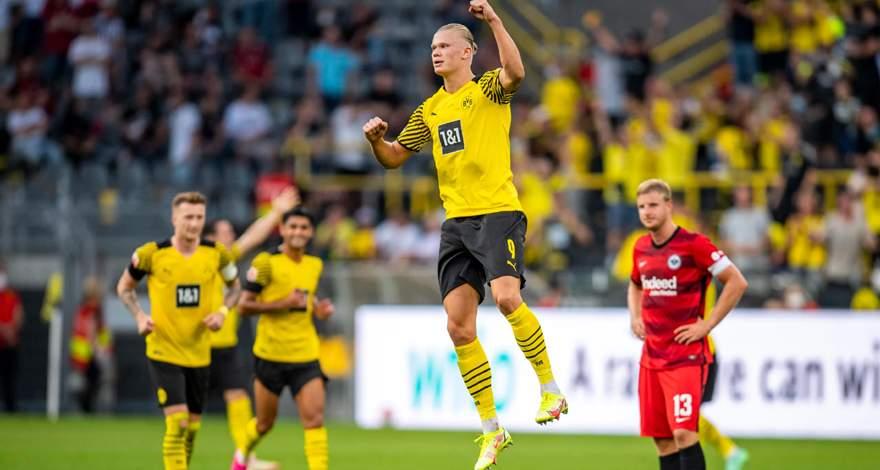 Бундеслига (1 тур): «Боруссия» Дортмунд - «Айнтрахт» (Франкфурт-на-Майне). Уверенная победа хозяев и бенефис Эрлинга Холанда.