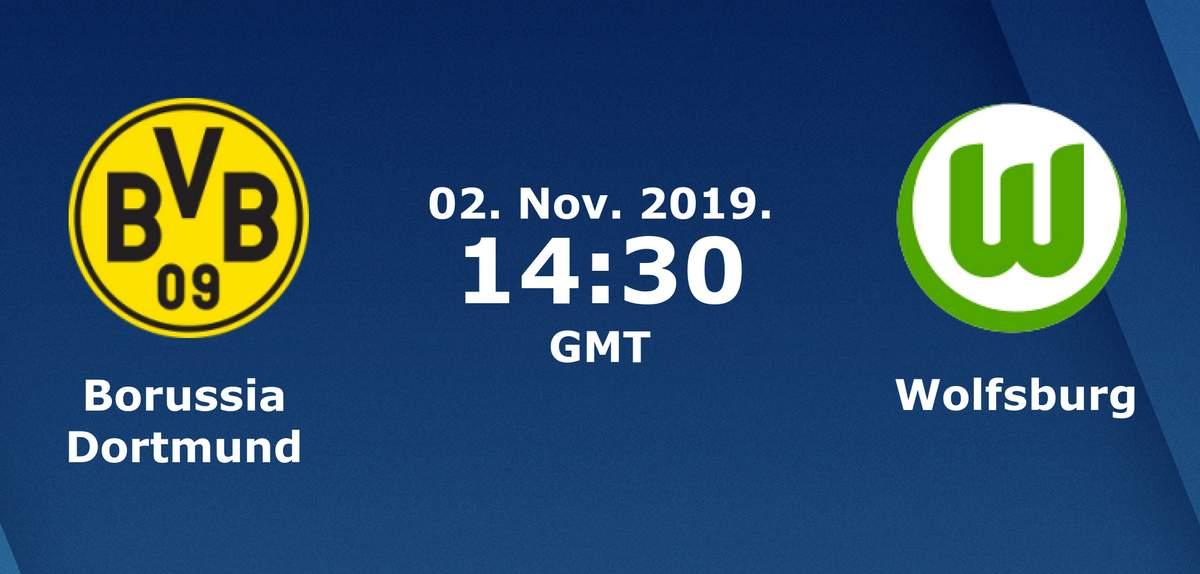 Бундеслига (10 тур): «Боруссия» Дортмунд — «Вольфсбург» Вольфсбург. 02.11.2019. Перед матчем.