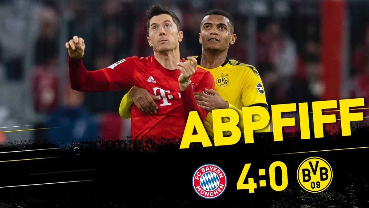 Бундеслига (11 тур): «Бавария» Мюнхен — «Боруссия» Дортмунд. 09.11.2019. После матча.