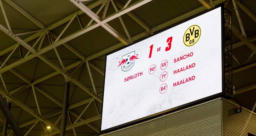 Бундеслига (15-й тур): «РБ Лейпциг» - «Боруссия». Борьба и классные голы: Холанд, Санчо, Ройс и очень важная победа «Боруссии».