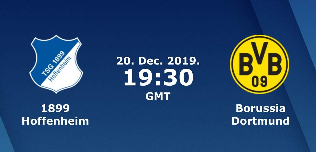 Бундеслига (17 тур): «Хоффенхайм» Хоффенхайм, Зинсхайм — «Боруссия» Дортмунд. 20.12.2019. Перед матчем.