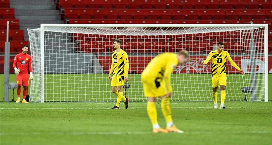Бундеслига (17-й тур): «Байер» Леверкузен - «Боруссия» Дортмунд. Заслуженное поражение гостей.