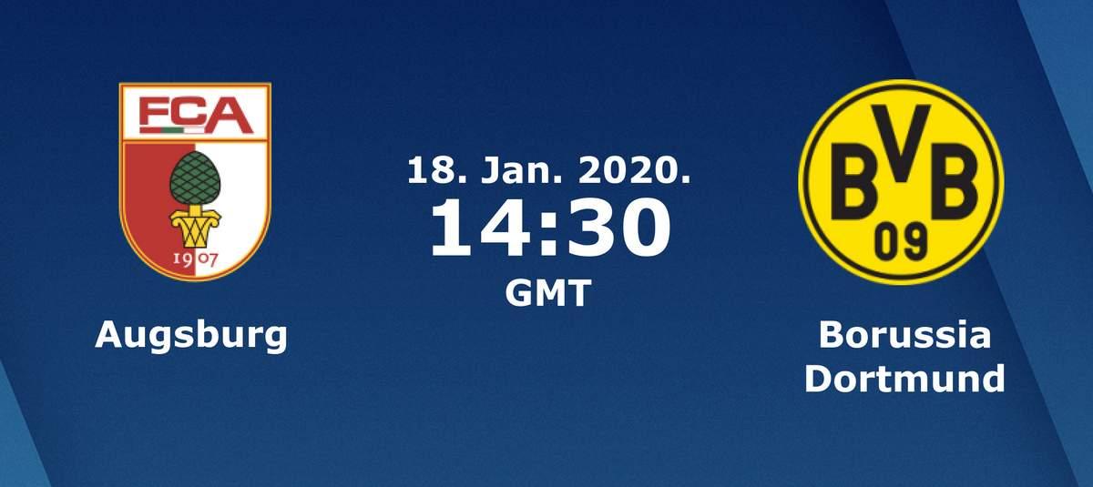 Бундеслига (18 тур): «Аугсбург» Аугсбург — «Боруссия» Дортмунд. 18.01.2020. Перед матчем.