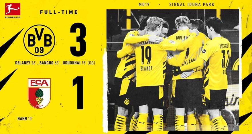 Бундеслига (19-й тур): «Боруссия» Дортмунд - «Аугсбург». Первый шаг из кризиса?