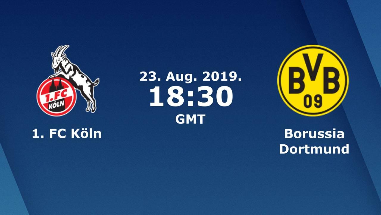Бундеслига (2 тур): «Кёльн» Кёльн — «Боруссия» Дортмунд . 23.08.2019. Перед матчем.