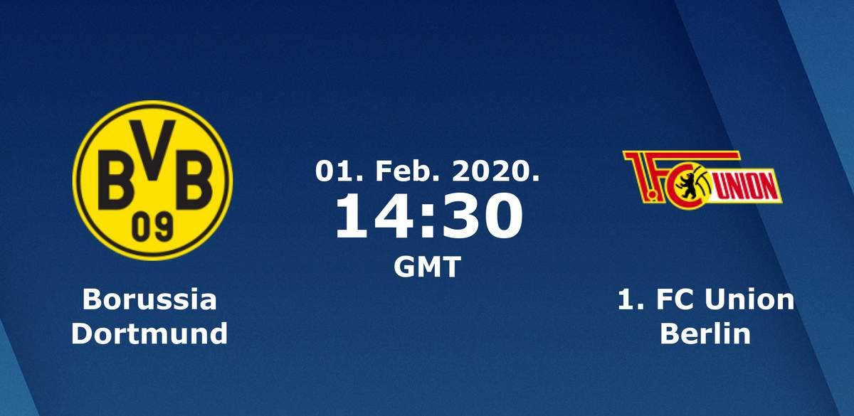 Бундеслига (20 тур): «Боруссия» Дортмунд — «Унион» Берлин. 01.02.2020. Перед матчем.