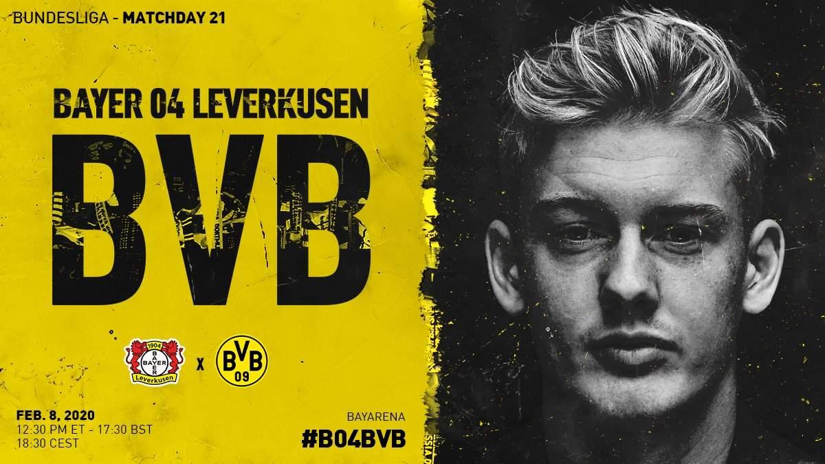 Бундеслига (21 тур): «Боруссия» Дортмунд — «Байер» Леверкузен. 08.02.2020. После матча.