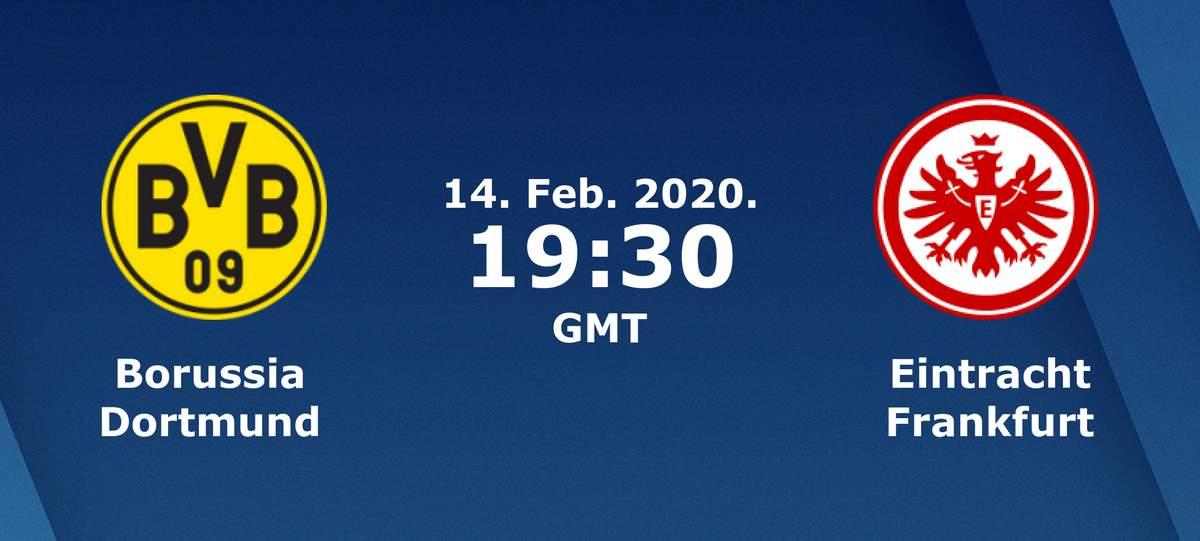 Бундеслига (22 тур): «Боруссия» Дортмунд — «Айнтрахт» Франкфурт-на-Майне. 14.02.2020. Перед матчем.