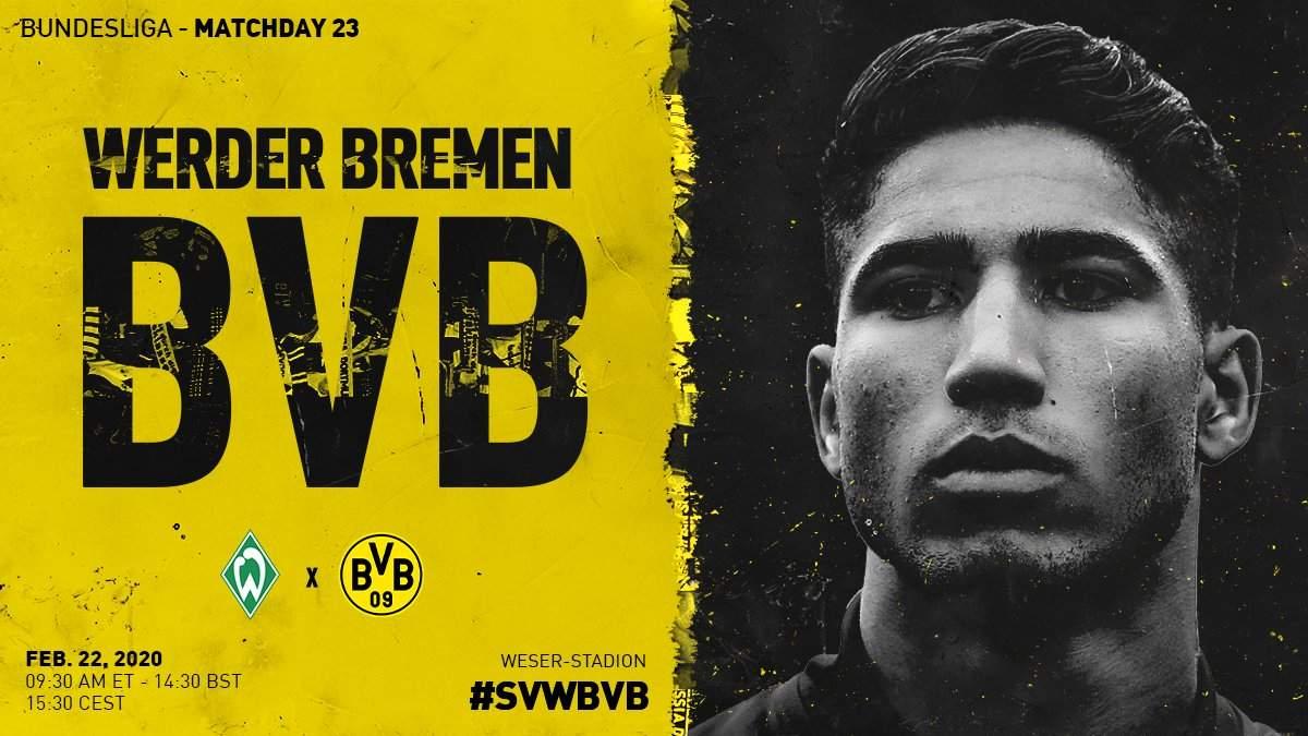 Бундеслига (23 тур): «Вердер» Бремен — «Боруссия» Дортмунд. 22.02.2020. После матча.