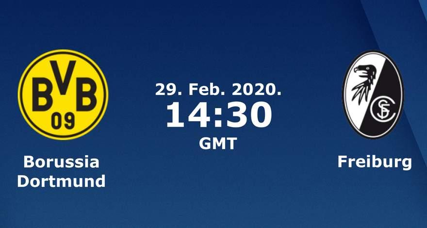 Бундеслига (24 тур): «Боруссия» Дортмунд — «Фрайбург» Фрайбург-им-Брайсгау. 29.02.2020. Перед матчем.