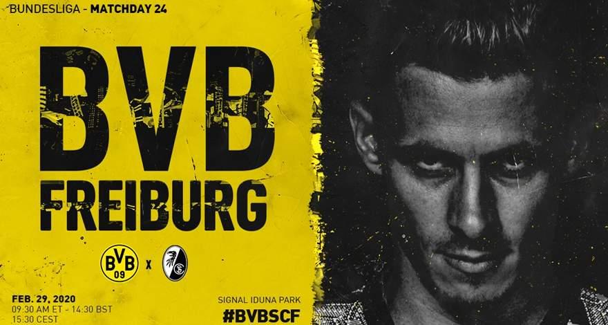 Бундеслига (24 тур): «Боруссия» Дортмунд — «Фрайбург» Фрайбург-им-Брайсгау. 29.02.2020. После матча.