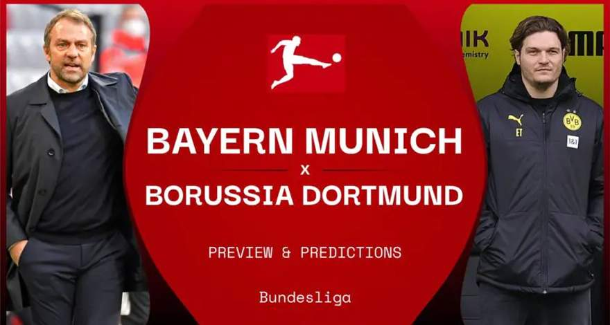 Бундеслига (24-й тур): «Бавария» Мюнхен - «Боруссия» Дортмунд. Перед матчем. Третий Der Klassiker за сезон.