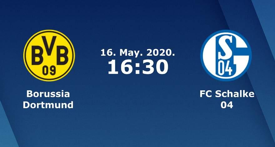 Бундеслига (26 тур): «Боруссия» Дортмунд — «Шальке» Гельзенкирхен. 16.05.2020. Перед матчем.