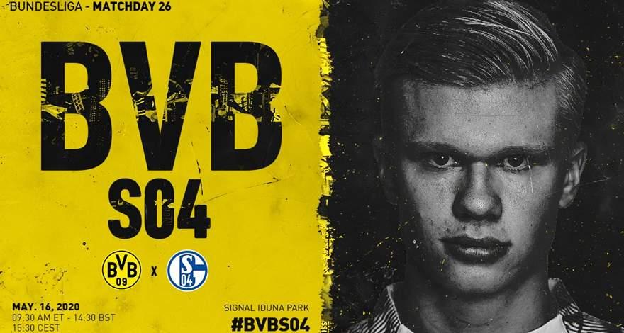 Бундеслига (26 тур): «Боруссия» Дортмунд — «Шальке» Гельзенкирхен. 16.05.2020. После матча.