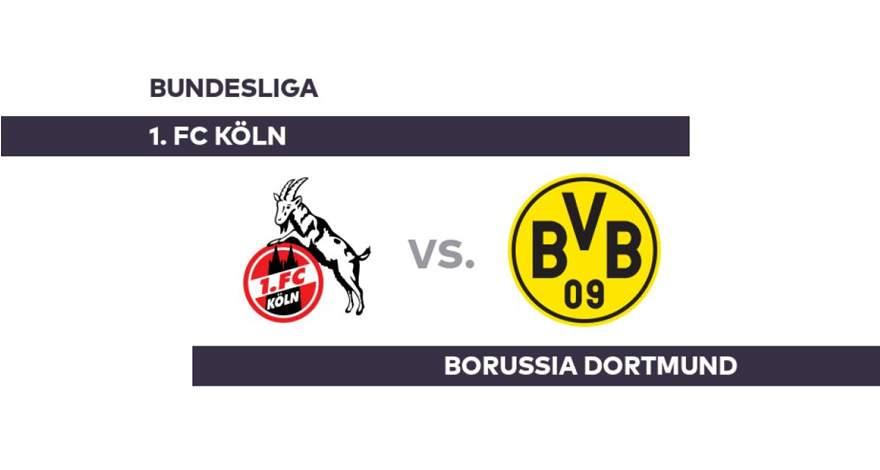 Бундеслига (26-й тур): «Кёльн» Кёльн - «Боруссия» Дортмунд. Перед матчем.