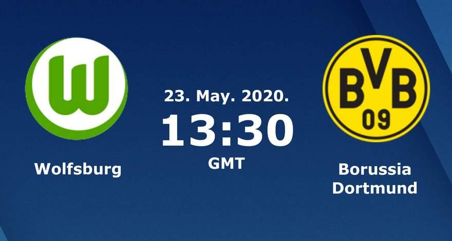 Бундеслига (27 тур): «Вольфсбург» Вольфсбург — «Боруссия» Дортмунд. 23.05.2020. Перед матчем.