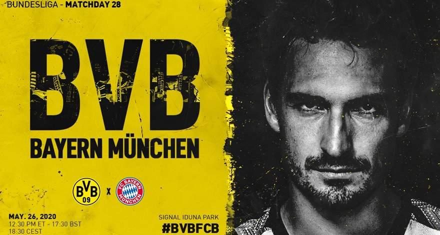 Бундеслига (28 тур): «Боруссия» Дортмунд — «Бавария» Мюнхен. 26.05.2020. После матча.