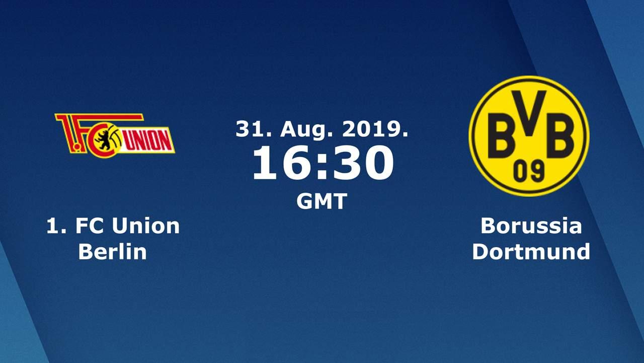 Бундеслига (3 тур): «Унион» Берлин — «Боруссия» Дортмунд. 31.08.2019. Перед матчем.