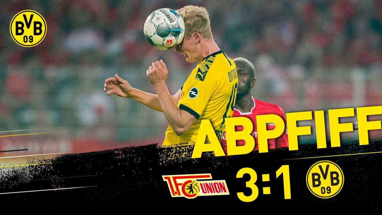 Бундеслига (3 тур): «Унион» Берлин — «Боруссия» Дортмунд. 31.08.2019. После матча.