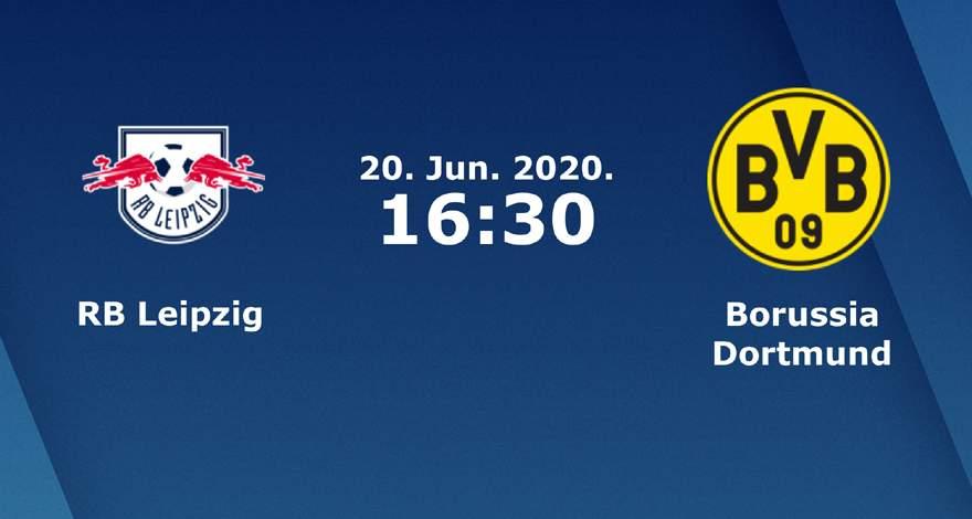 Бундеслига (33 тур): «РБ Лейпциг» Лейпциг — «Боруссия» Дортмунд. 20.06.2020. Перед матчем.