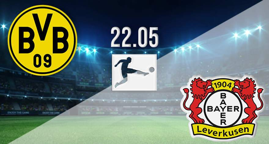 Бундеслига (34-й тур): «Боруссия» Дортмунд - «Байер» Леверкузен. Перед матчем.
