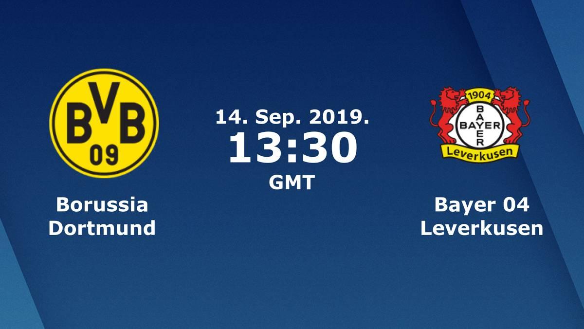 Бундеслига (4 тур): «Боруссия» Дортмунд — «Байер» Леверкузен. 14.09.2019. Перед матчем.