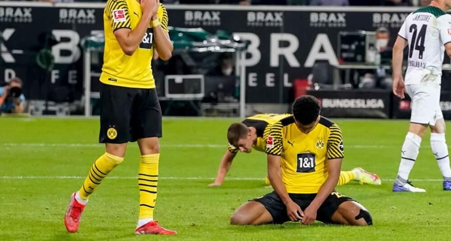 Бундеслига (6 тур): «Боруссия» (Менхенгладбах) - «Боруссия» Дортмунд. После матча. Заслуженное поражение гостей.