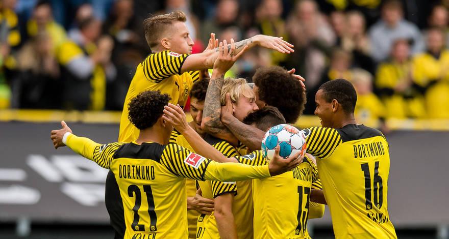 Бундеслига (7 тур): «Боруссия» Дортмунд - «Аугсбург». После матча.