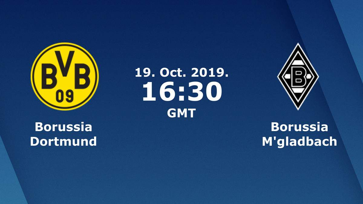 Бундеслига (8 тур): «Боруссия» Дортмунд — «Боруссия» Менхенгладбах. 19.10.2019. Перед матчем.