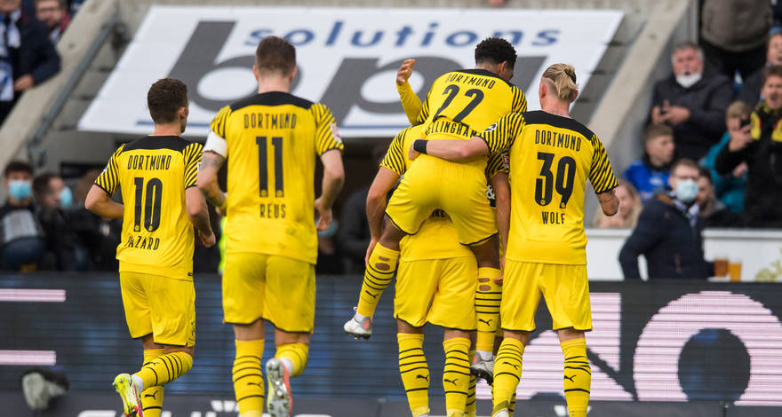 Бундеслига (9 тур): «Арминия» Билефельд - «Боруссия» Дортмунд. После матча. Победа на классе.