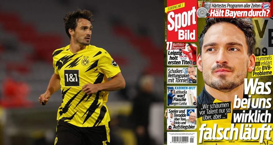 Интервью Матса Хуммельса изданию Sport Bild: «Мы слишком часто играли не во взрослый футбол».