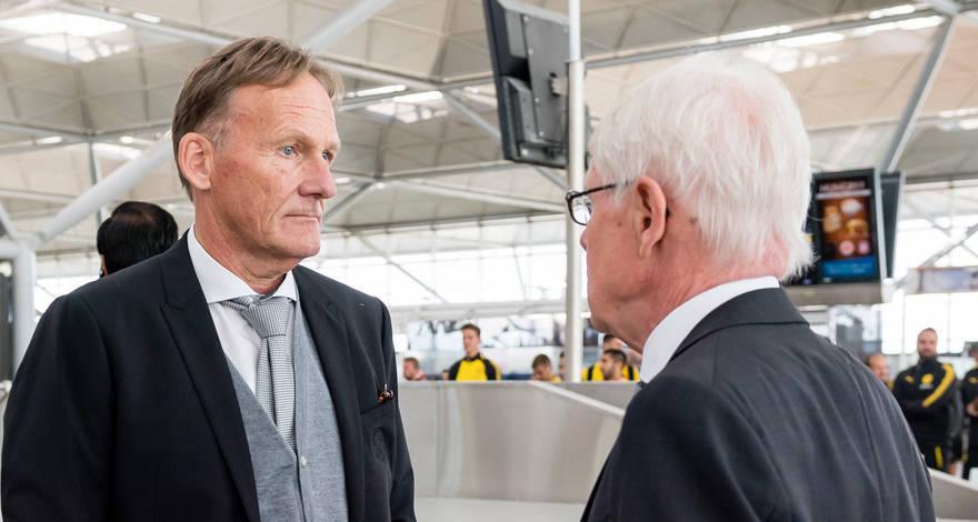 Ханс-Йоахим Ватцке: «Если мы не начнём играть в ближайшие месяцы, то вся лига пойдёт на дно»