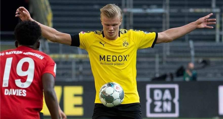 Холанд взял себе номер 9: он должен равняться на легенд «Боруссии».