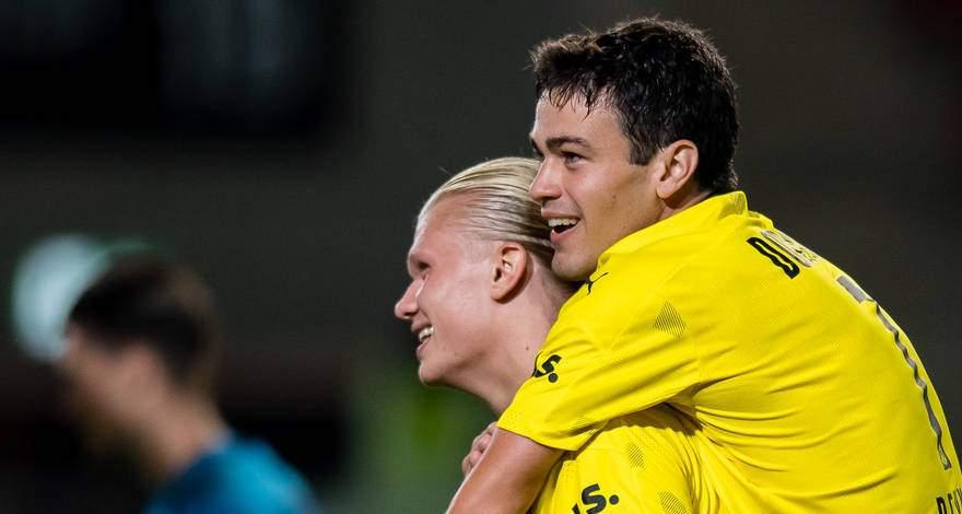 Кубок Германии (1 раунд): «Вехен» Висбаден - «Боруссия» Дортмунд. Легкая победа с хет-триком и отжиманиями Эрлинга Холанда.