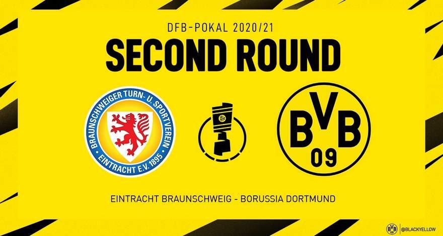 Кубок Германии (2-ой круг): «Айнтрахт» (Брауншвейг) - «Боруссия» (Дортмунд). Последняя игра перед Рождеством.
