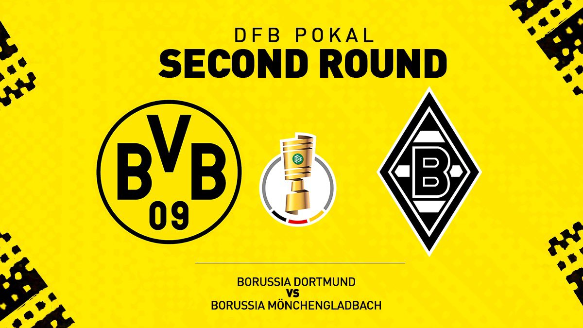 Кубок Германии (2 раунд): «Боруссия» Дортмунд — «Боруссия» Менхенгладбах. 30.10.2019. Перед матчем.